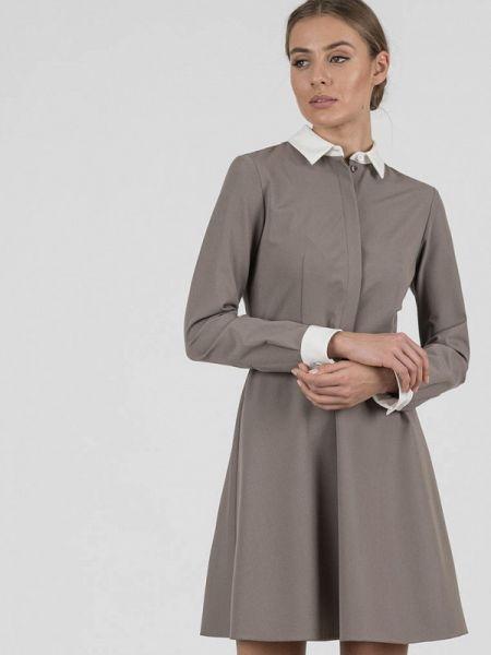 Платье серое платье-рубашка Raimaxx