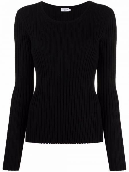 Koszulka z wiskozy - czarna Filippa K