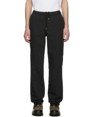 Шерстяные брючные черные брюки с карманами Schnaydermans
