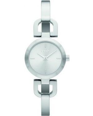 Кварцевые часы водонепроницаемые с круглым циферблатом Dkny