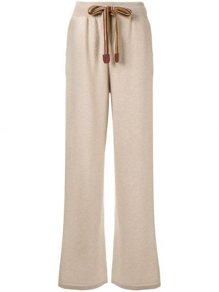 Спортивные брюки свободные с карманами Loro Piana