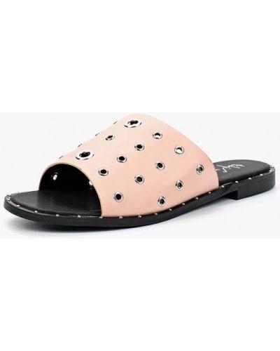 Розовое сабо кожаные Sergio Todzi