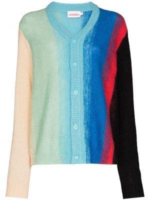 Niebieski sweter moherowy Charles Jeffrey Loverboy