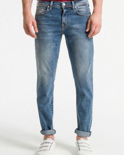Зауженные джинсы - синие Ltb