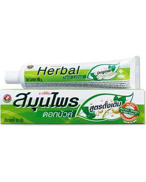 Зубная паста зеленый Twin Lotus