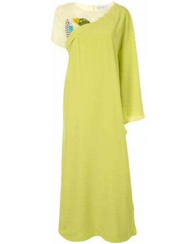 Платье со шлицей Pose Arazzi