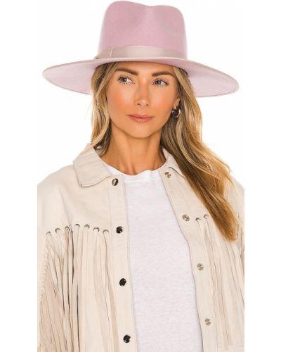 Fioletowa czapka wełniana Lack Of Color