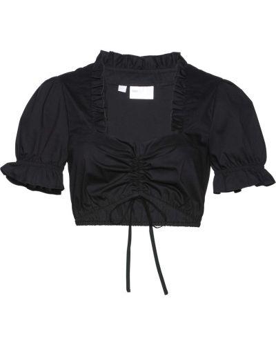 Блузка с рукавом фонарик с рюшами Bonprix