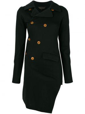 Черная куртка двубортная винтажная Comme Des Garçons Pre-owned