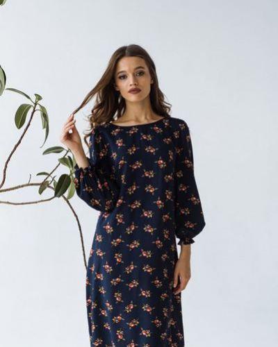 Повседневное платье из штапеля Vovk