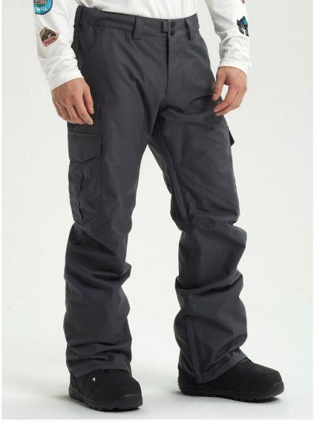 Spodnie - szare Burton