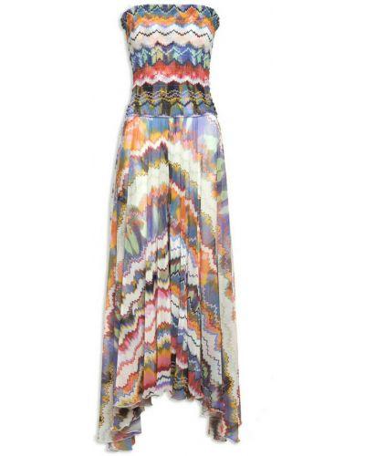Beżowa sukienka Missoni