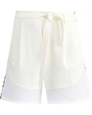 Спортивные шорты в полоску с карманами Maison Ullens