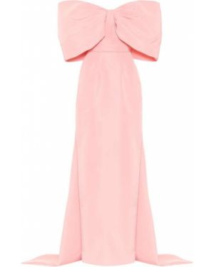 Вечернее платье розовое мини Monique Lhuillier