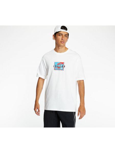 Biały t-shirt Jordan