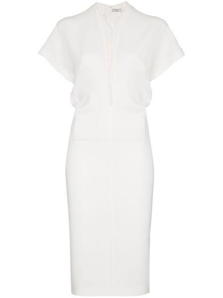 Приталенное платье мини на молнии Poiret