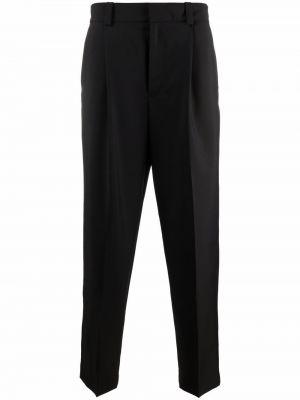Spodnie z wiskozy - czarne Acne Studios