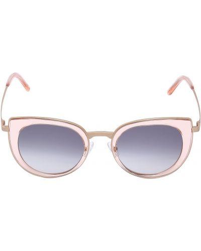 Złote różowe okulary Peter And May