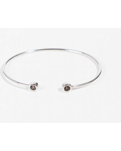 Серебряный браслет с камнями серебряный Parfois
