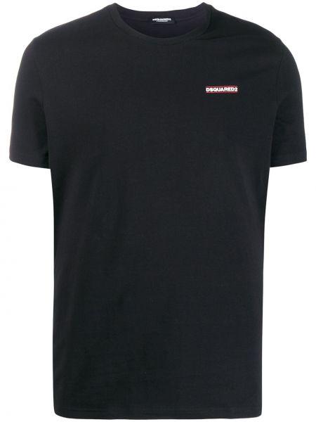 Koszula krótkie z krótkim rękawem prosto puchaty Dsquared2