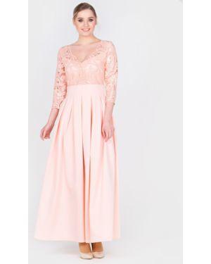 Вечернее платье с пайетками на торжество Filigrana