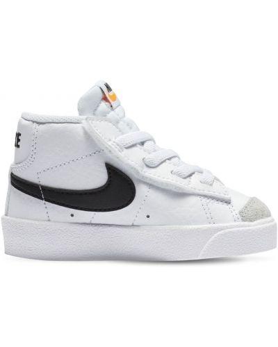 Biała marynarka skórzana koronkowa Nike