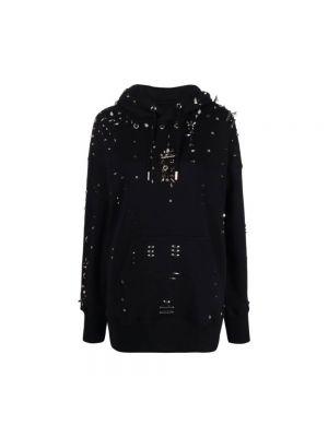 Bluza z nadrukiem z printem - czarna Givenchy