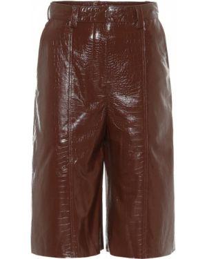 Кожаные бермуды - коричневые Dodo Bar Or