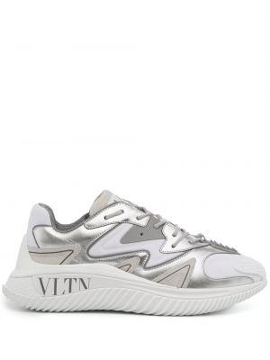 Buty sportowe srebrne Valentino Garavani