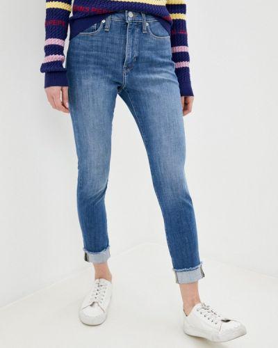 Синие джинсы-скинни узкого кроя Banana Republic
