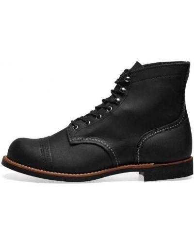 Botki sznurowane - czarne Red Wing Shoes
