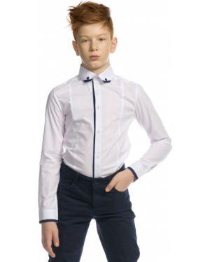 Классическая рубашка на пуговицах с манжетами с длинными рукавами Pelican