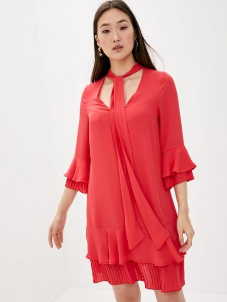 Красное повседневное платье Blugirl Folies