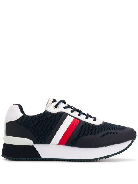 Кроссовки для бега с логотипом на шнуровке Tommy Hilfiger