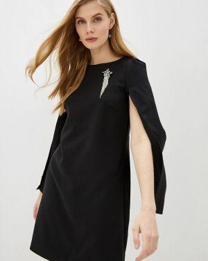 Черное вечернее платье Zarina