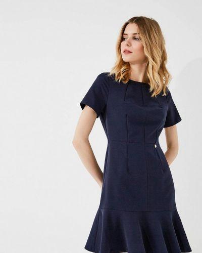 Платье весеннее синее Blugirl Folies