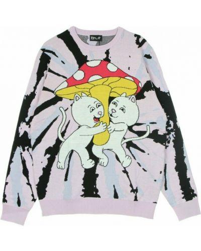Różowy sweter Ripndip