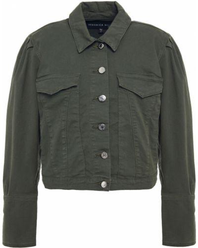 Армейская ватная синяя джинсовая куртка Veronica Beard