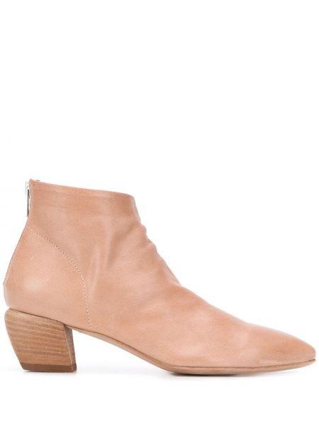 Ботинки на каблуке без каблука с острым носком Officine Creative