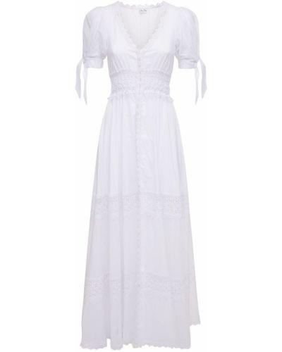 Платье макси длинное - белое Charo Ruiz