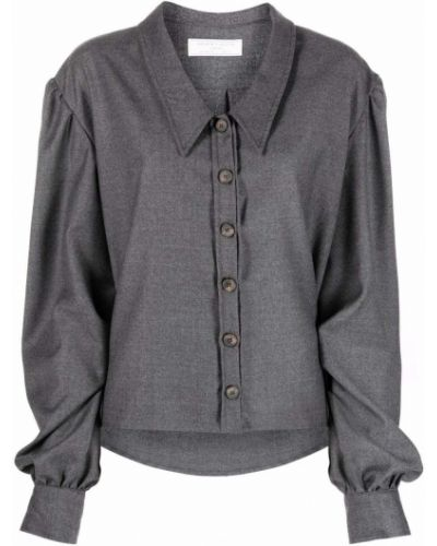 Шерстяная рубашка - серая SociÉtÉ Anonyme