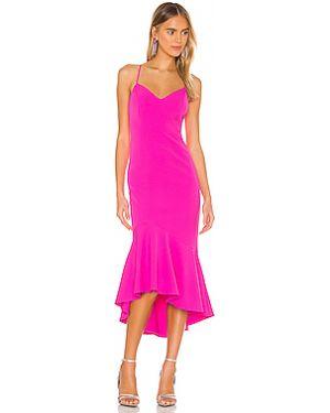 Платье миди на бретелях на молнии Bardot