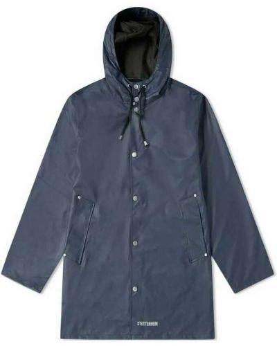 Niebieski płaszcz przeciwdeszczowy Stutterheim