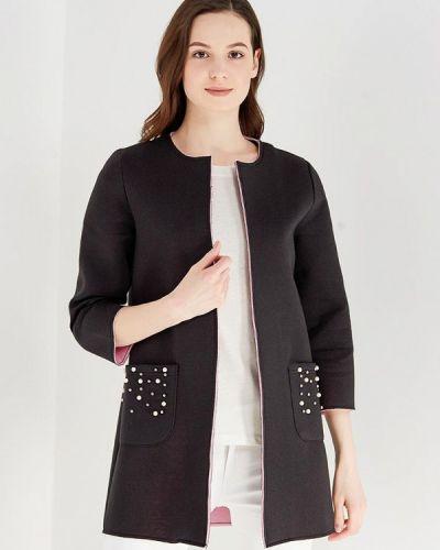 Черное пальто весеннее Only