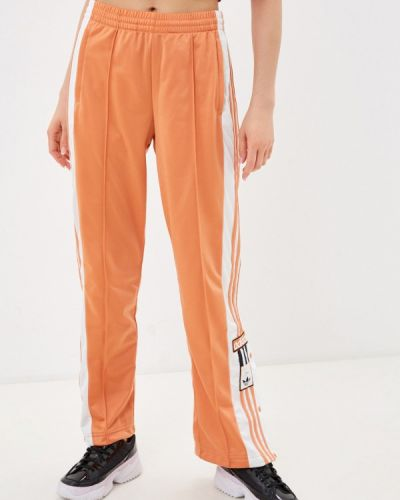 Красные спортивные брюки Adidas Originals