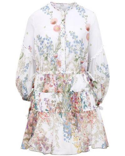 Хлопковое платье - белое Charo Ruiz Ibiza
