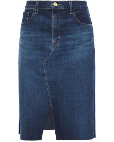 Джинсовая юбка - синяя J Brand
