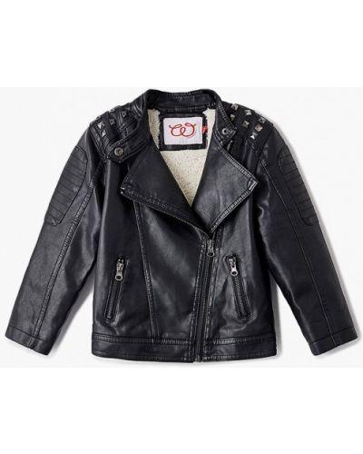 Черная кожаная куртка W.sharvel