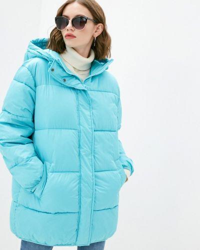 Бирюзовая утепленная куртка Pimkie