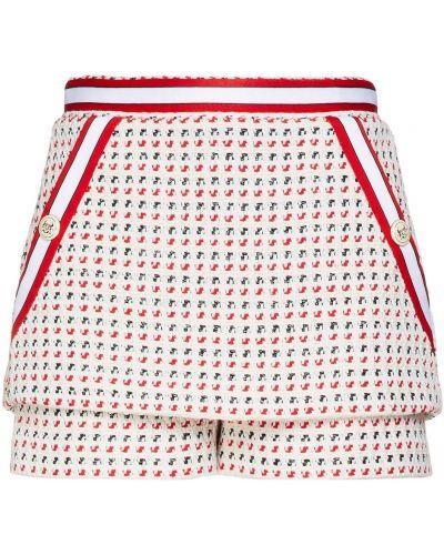 Ватные вязаные хлопковые шорты Maje